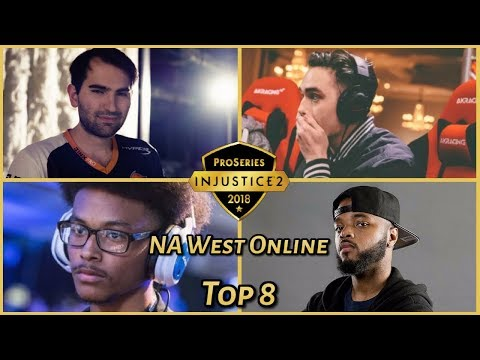 Injustice 2 Pro Series: NA West Online (Top 8) Theo, Scar, Rewind, Deoxys