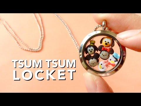 DIY Tsum Tsums Glass Locket (Easy)