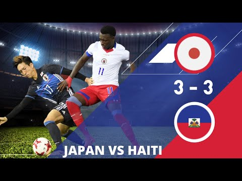 japon vs haiti  3 3