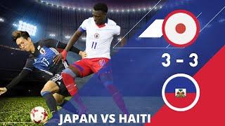 japon vs haiti  3 3