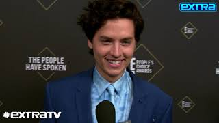 LOL! Cole Sprouse Jokes About How He Will Rub His New Award in Dylan's Face