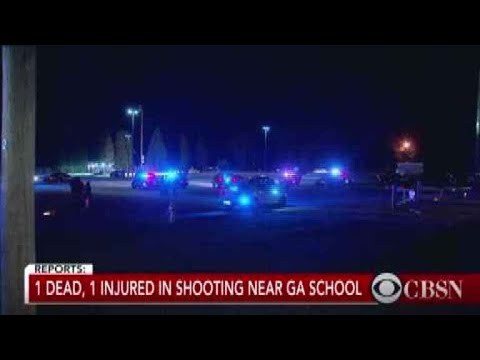 1 killed in shooting near Georgia high school, authorities say