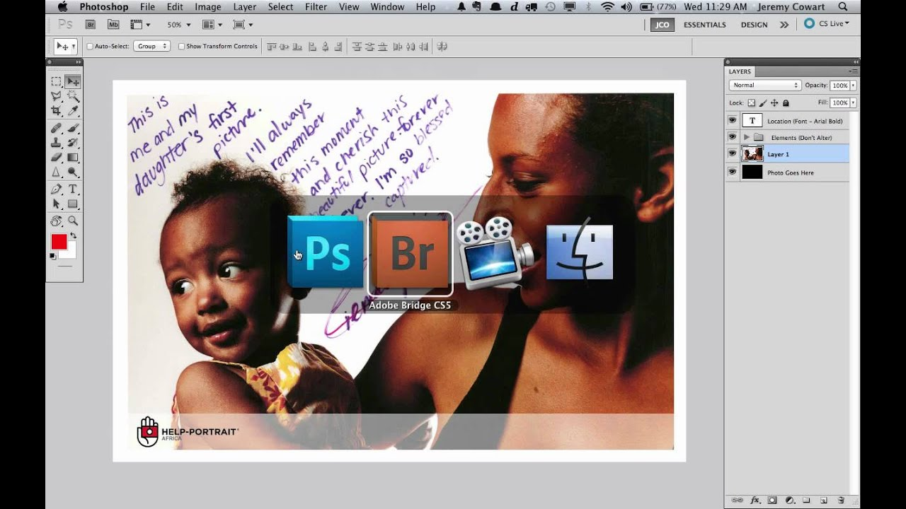 how to add a watermark from photoshop