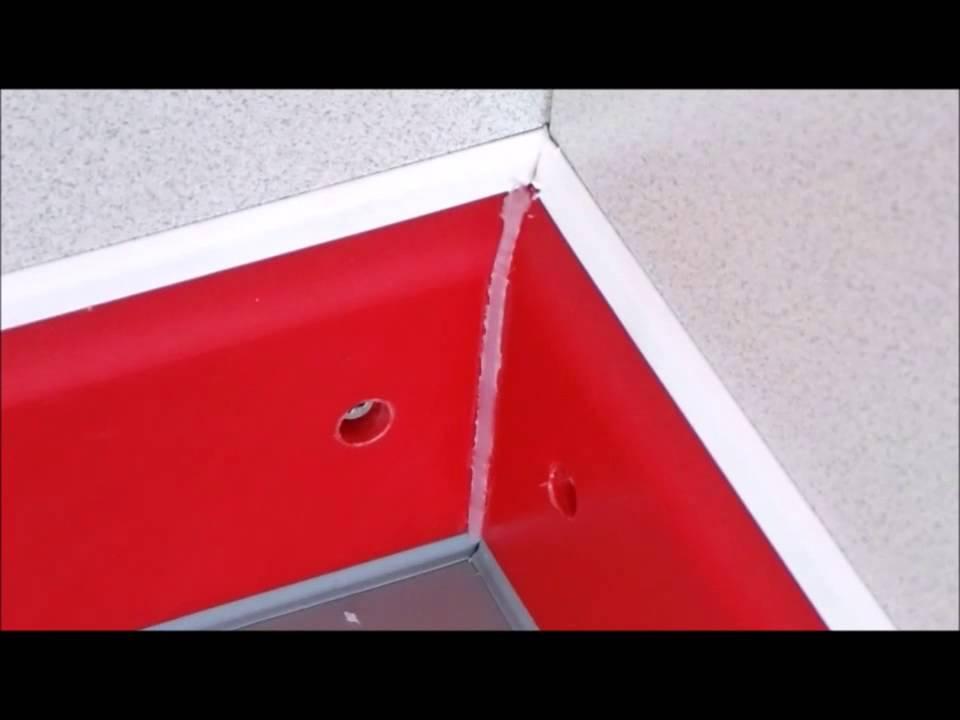 Soudure d 39 un angle de plinthe stso youtube for Coupe d angle plinthe