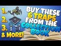 6TRAPS You SHOULD BUY From The COLLECTION BOOK! | Fortnite Save The World