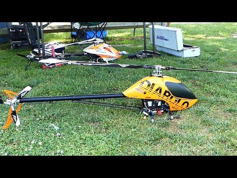 RC Helicopter Event, HOD 2017,  Alan Szabo Night flight