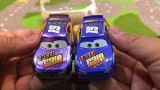 New Disney Cars 3 Toys Metallic Bobby Swift Double Ransburg ASMR Unboxing Review Family Toy Review