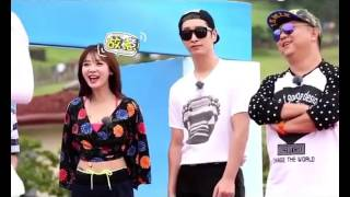 151119 T-ARA - Lets go together - Hyomin and Fu XinBo story