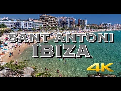 Sant Antoni Ibiza, Spain Tour 4K