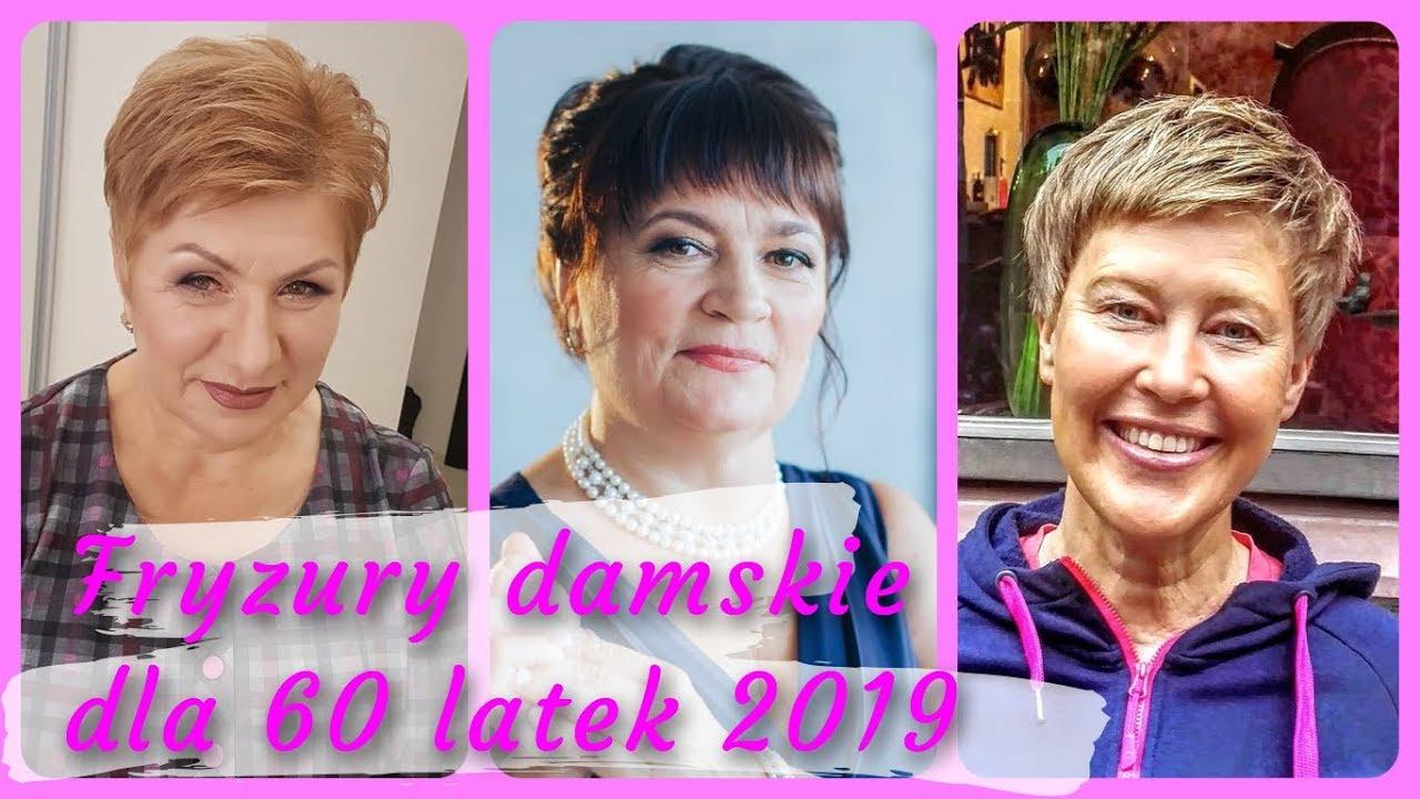 Top 20 Modne Fryzury Damskie Dla 60 Latek 2019