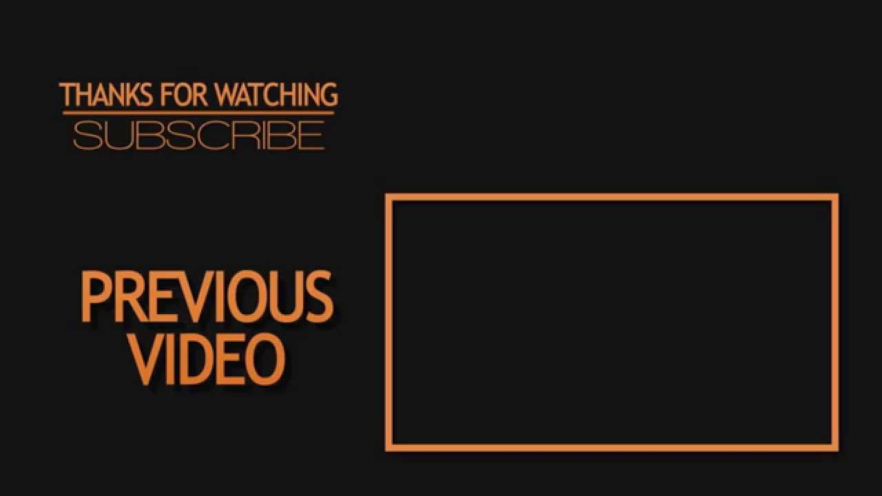 Free outro template 2d after effects cs6 free template for Cool outro