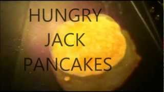 How To Make Hungry Jack Pancakes!