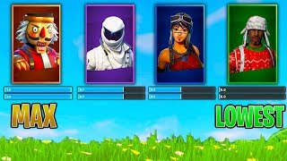 RANDOM SKIN SENSITIVITY CHALLENGE dans Fortnite Battle Royale (IMPOSSIBLE)