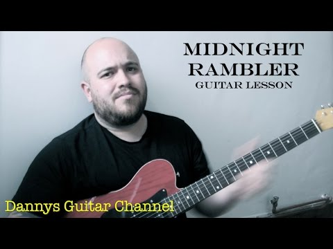 Midnight Rambler - The Rolling Stones - Guitar Lesson