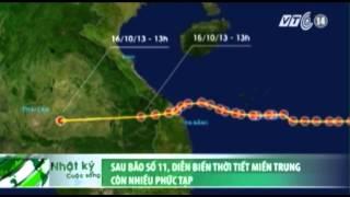 VTC14_Sau bão số 11, diễn biến thời tiết tại miền Trung còn nhiều phức tạp