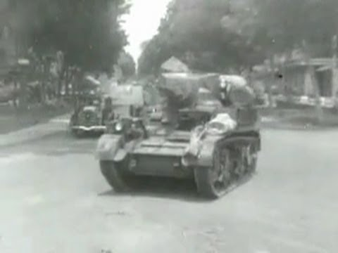 The British Army on the Streets of Jakarta, Indonesia, 1946