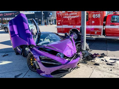 SUPERCAR FAILS AND CRASH COMPILATION 2020 #2 [FERRARI, LAMBORGHINI, PORSCHE, JAGUAR, MERCEDES, AUDI]