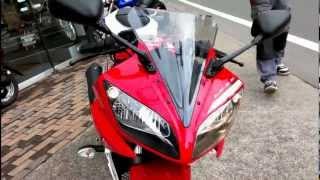 YAMAHA YZF-R15 Engine sound