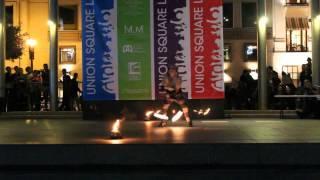 Fire Poi Solo: Memory Elena, 2012 Fire Dancing Expo, San Francisco