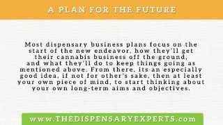 4 Key Points to Include in Your Marijuana Dispensary Business Plan