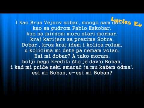 Bad Copy - Esi mi dobar [Tekst][Lyrics][HD] (Krigle 2013)