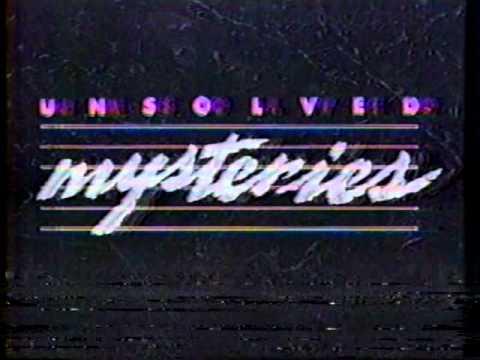 MISTERIO SIN RESOLVER  serie de tv 1989