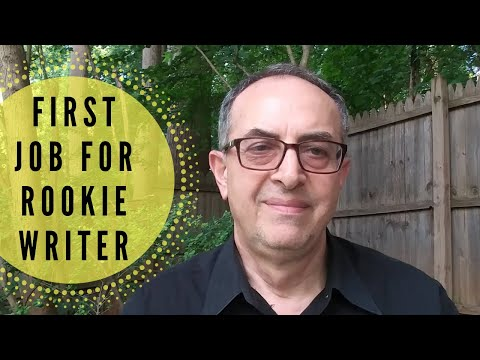 Ideas for That First Job as a Rookie Technical Writer