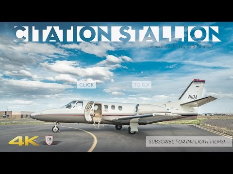 Citation Stallion Biz Jet Tour