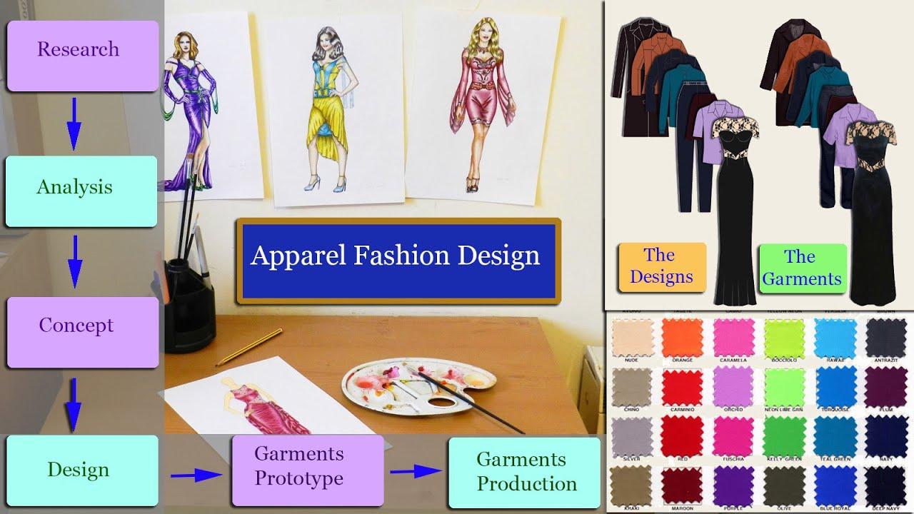 Fashion Design Apparel Creative Elements Youtube