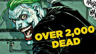10 Comic Villains With The Highest Body Count