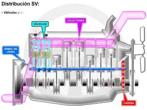 La distribución del motor (2/4)