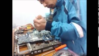 réparation toshiba satellite p200