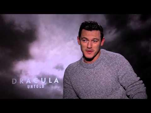 "Dracula Untold: Luke Evans ""Vlad"" Official Movie Interview"