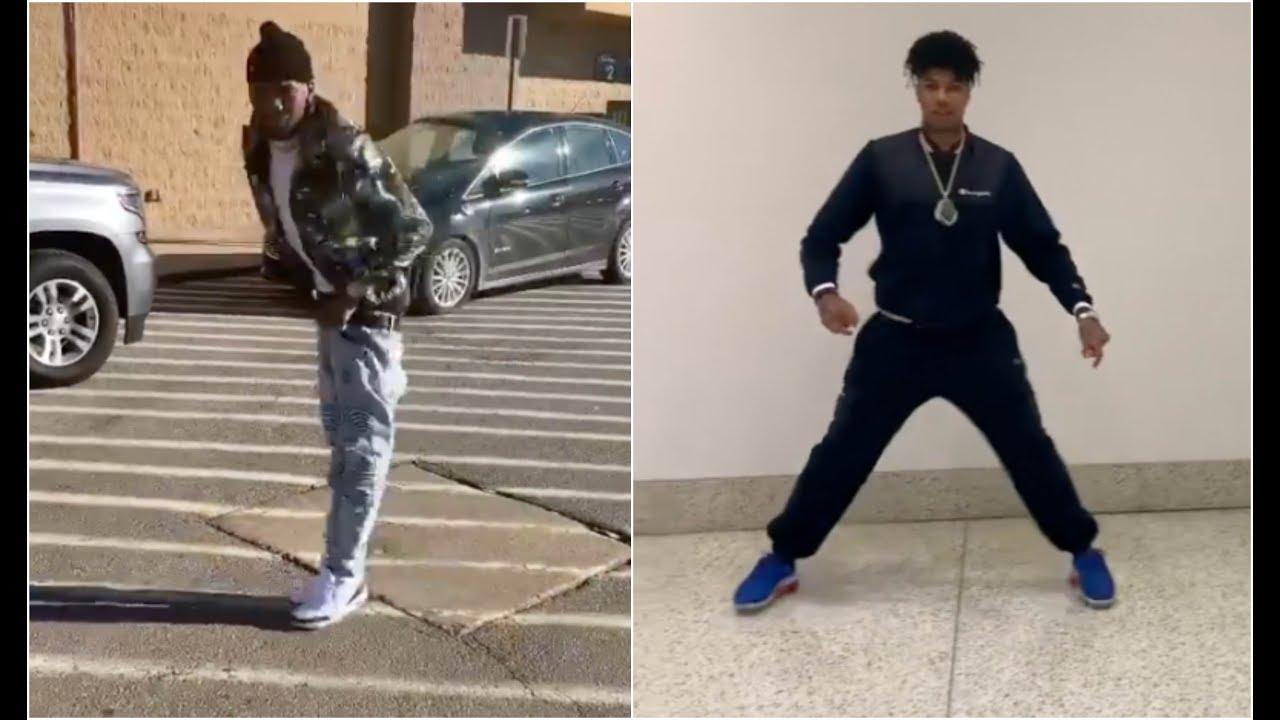 Blocboy Jb Vs Blueface Crip Walking Dance Off Who C Walks Better