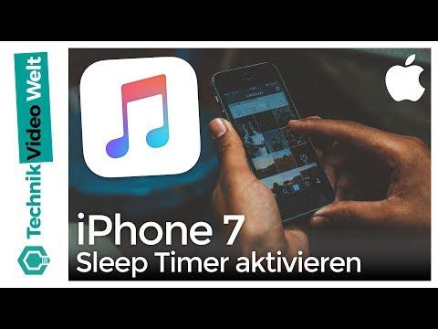 iPhone 7 Sleep Timer aktivieren - Mit Musik einschlafen
