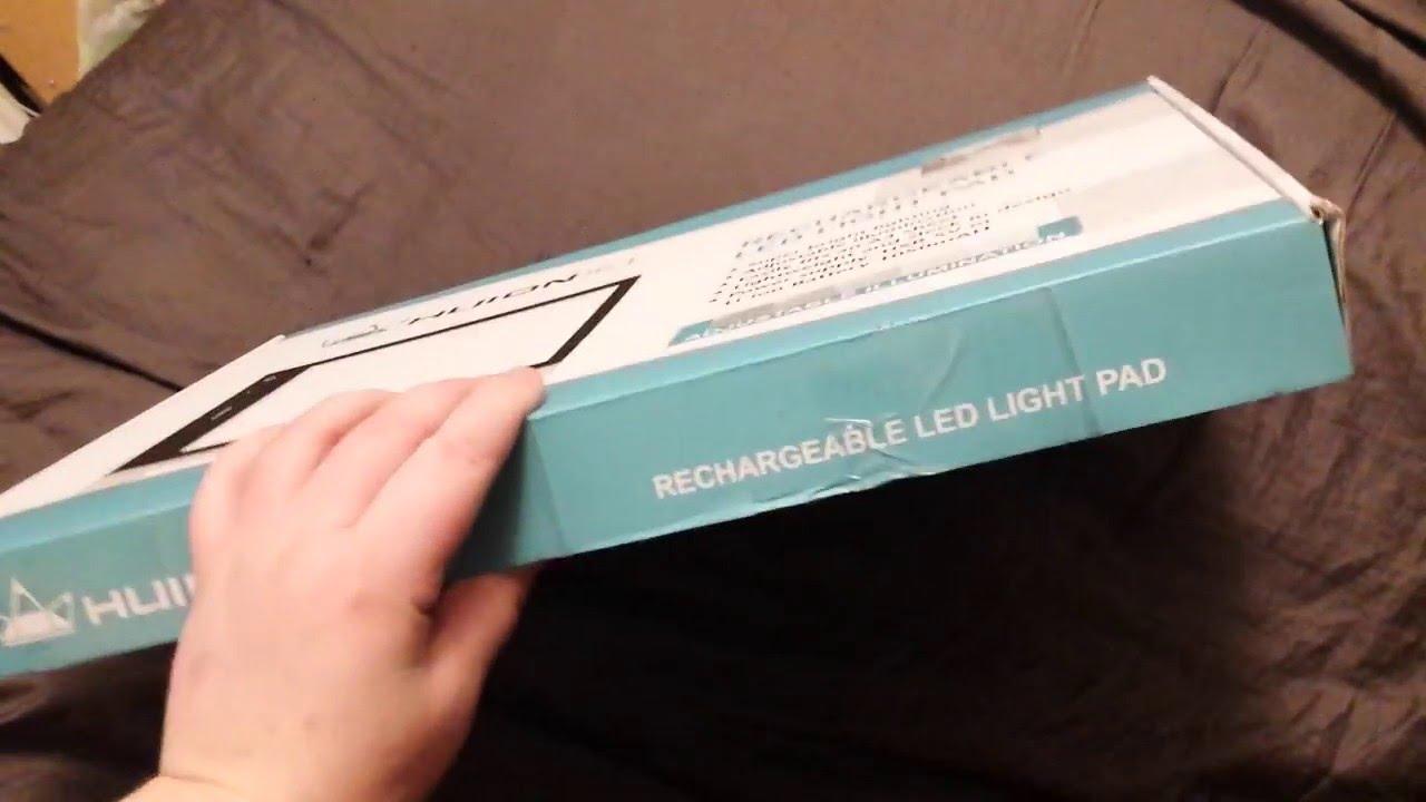 Huion LB4 Light Pad Unboxing