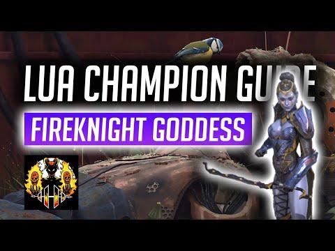 RAID: Shadow Legends | LUA Champion Spotlight | Full Guide to this Fireknight Goddess!