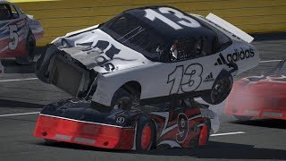 Getting Wrecked in iRacing Compilation