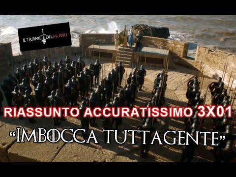 """RECENSIONE GAME OF THRONES 3x01 RIASSUNTO ACCURATISSIMO """"IMBOCCA TUTTAGENTE"""""""