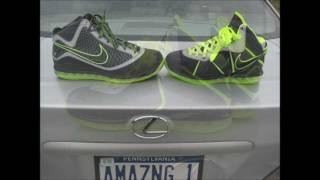 "Nike LeBron 7,8  ""112"" Comparision"