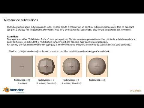 Blender 2.8 - Modifier Subdivision Surface (25)