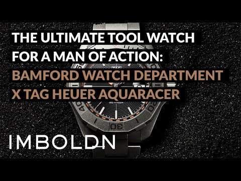 The Ultimate Tool Watch For A Man Of Action: Bamford Watch Department x Tag Heuer Aquaracer
