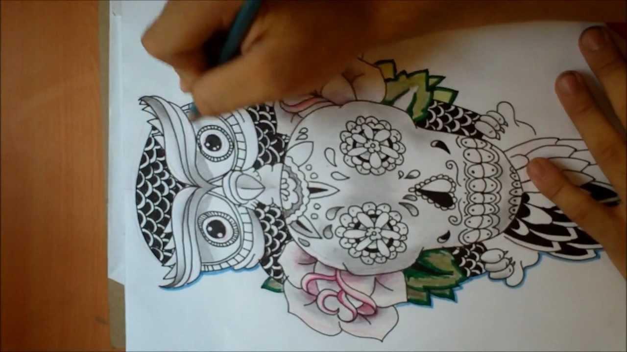 jack arevalo  dibujando un bho sosteniendo una calabera  YouTube