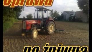 Żniwa 2010 na Lubelszczyźnie cz.2 | Wpadka Mf 255 i prasy