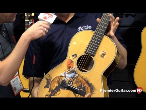 SNAMM '16 - Martin LE Cowboy, D-1 Authentic 1931, And CS Bluegrass Demos