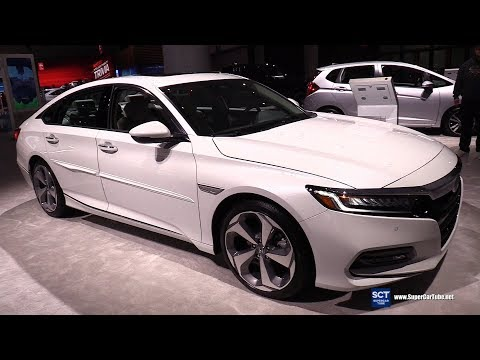 2019 Honda Accord Touring - Exterior and Interior Walkaround - 2018 LA Auto Show