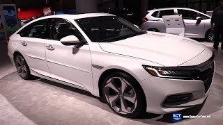 2019 Honda Accord Touring - Exterior and Interior Walkaround - 2018 LA Auto Show