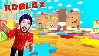 Roblox: KITA KAAN CAUGHT AGAIN IN THE NEW KINDERGARTEN! Escape The Daycare Obby