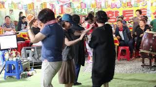 홍단이품바 도련님(문연주) 희야(진성) 빽댄서 언니들 일산 해수욕장 0707