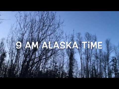 Does it stay dark all winter long in Alaska?